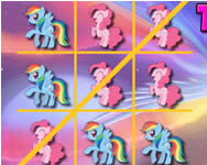 My Little Pony tic-tac-toe j�t�k