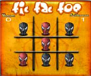 Tic Tac Toe Spiderman am�ba j�t�kok ingyen