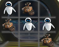 Walle tic tac toe am�ba j�t�kok